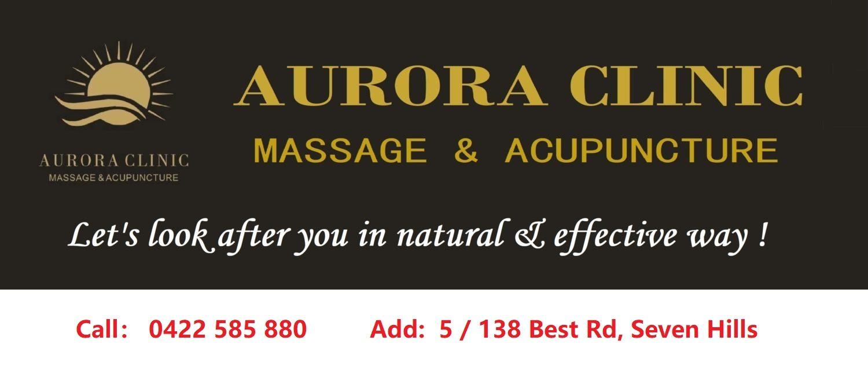 Aurora Massage Seven Hills